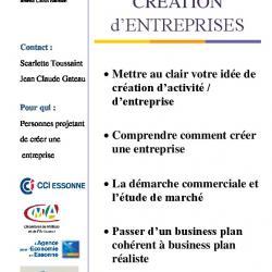 Fiche IP3 creation d'entreprise
