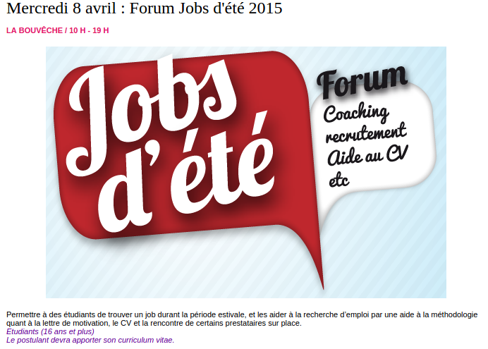 2015 04 08 forum jobs ete orsay