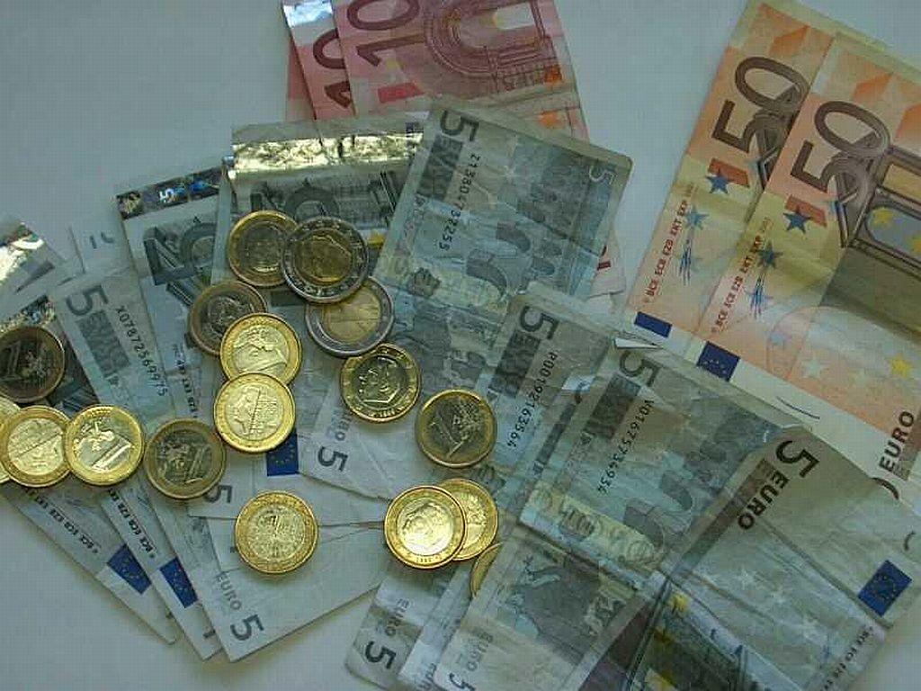 Argent euros monnaie billets banque