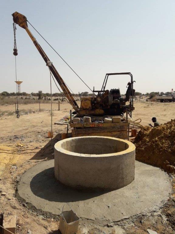 Finition puits 1