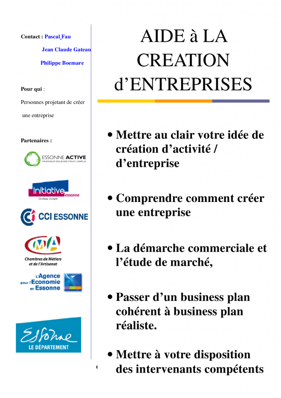 F16 ip3 creation d entreprise